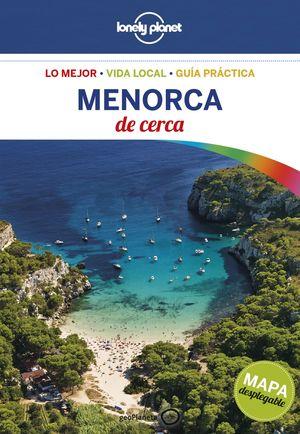 MENORCA DE CERCA LONELY PLANET 2017