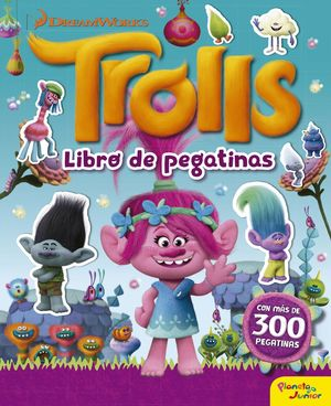 TROLLS LIBRO DE PEGATINAS