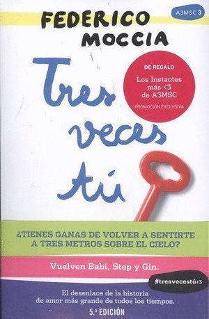 TRES VECES TU + BLOC DE NOTAS (PACK)