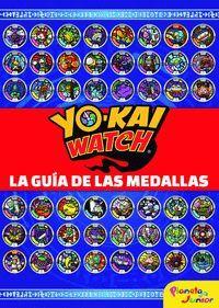 YO-KAI WATCH LA GUIA DE LAS MEDALLAS