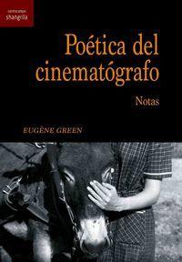 POETICA DEL CINEMATOGRAFO