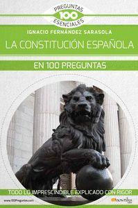 CONSTITUCION ESPAÑOLA EN 100 PREGUNTAS