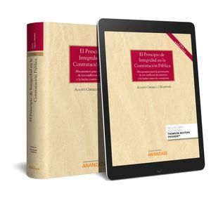 EL PRINCIPIO DE INTEGRIDAD EN LA CONTRATACIÓN PÚBLICA (PAPEL + E-BOOK)