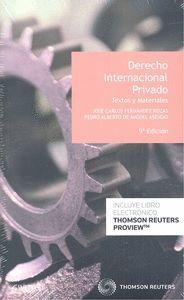 DERECHO INTERNACIONAL PRIVADO 9'ED (DUO)