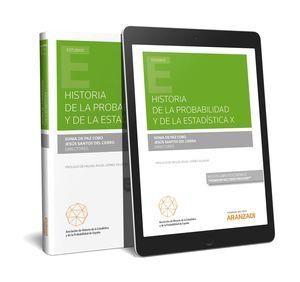 HISTORIA DE LA PROBABILIDAD Y DE LA ESTADÍSTICA X (PAPEL + E-BOOK)
