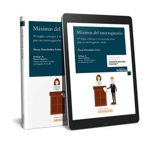 MÁXIMAS DEL INTERROGATORIO (PAPEL + E-BOOK)