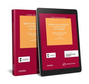MODELOS DE GESTIÓN E INNOVACIÓN EN TURISMO (PAPEL + E-BOOK)