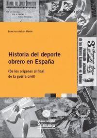 HISTORIA DEL DEPORTE OBRERO EN ESPAÑA