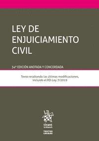 LEY DE ENJUICIAMIENTO CIVIL 34ª EDICIÓN