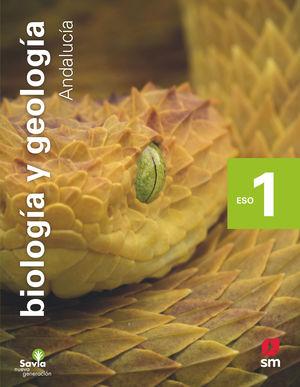 BIOLOGÍA Y GEOLOGÍA. 1 ESO. SAVIA NUEVA GENERACIÓN. ANDALUCÍA