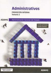 ADMINISTRATIVOS TEMARIO 2 2019 PROMOCION INTERNA ADMINISTRACION ESTADO