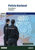 POLICÍA NACIONAL TEMARIO 1 2019 ESCALA BÁSICA