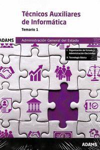 TEMARIO 1 TECNICOS AUXILIARES DE INFORMATICA AGE 2