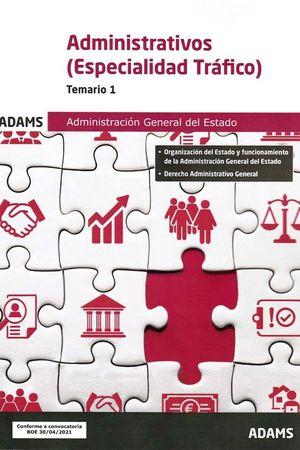 TEMARIO 1 ADMINISTRATIVOS DE LA ADMINISTRACIÓN GENERAL DEL ESTADO ESPECIALIDAD T