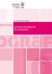 ESTUDIOS DE DERECHO DE SUCESIONES