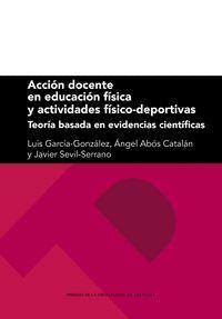 ACCIÓN DOCENTE EN EDUCACIÓN FÍSICA Y ACTIVIDADES FÍSICO-DEPORTIVAS
