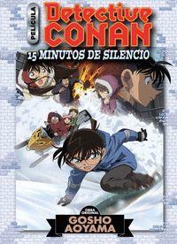 DETECTIVE CONAN ANIME COMIC Nº 02 QUINCE MINUTOS DE SILENCIO