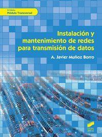 INSTALACION Y MANTENIMIENTO DE REDES PARA TRANSMISION DE DATOS