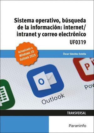 SISTEMA OPERATIVO, BÚSQUEDA DE LA INFORMACIÓN: INTERNET/INTRANET Y CORREO ELECTR