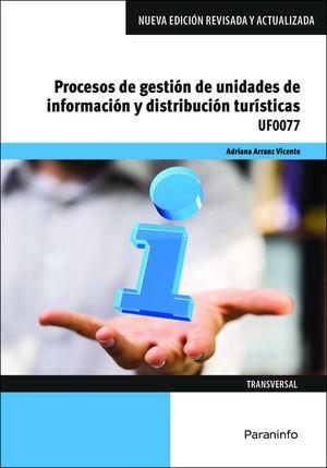 PROCESOS DE GESTIÓN DE UNIDADES DE INFORMACIÓN Y DISTRIBUCIÓN TURÍSTICAS