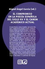 EL COMPROMISO EN LA POESÍA ESPAÑOLA DEL SIGLO XX Y