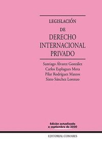 LEGISLACION DE DERECHO INTERNACIONAL PRIVADO 22'ED