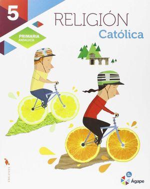 RELIGION 5ºEP AGAPE 2015 ANDALUCIA