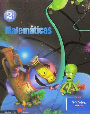 MATEMATICAS 2ºEP TRIMESTRES SUPERPIXEPOLIS (ANDALUCIA)(2015)
