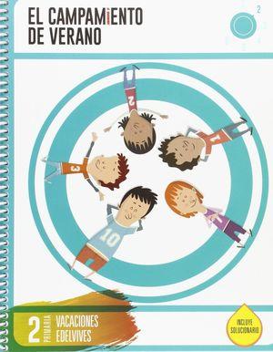 CUADERNO DE VACACIONES 2º EP. EDELVIVES