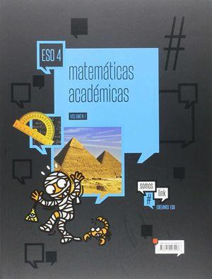 MATEMÁTICAS ACADÉMICAS 4.º ESO ( TRES VOLÚMENES)