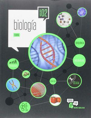 BIOLOGÍA 2.º BACH. ( DOS VOLUMENES)