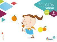RELIGION AGAPE BERIT 5 AÑOS