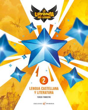 PROYECTO: LA LEYENDA DEL LEGADO. LENGUA CASTELLANA Y LITERATURA 2. PACK TRIMESTR