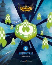 PROYECTO: LA LEYENDA DEL LEGADO. MATEMÁTICAS 5. TRIMESTRES