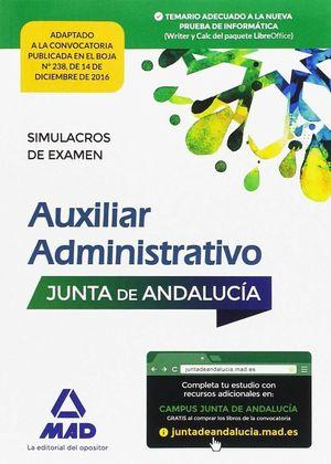 PAQUETE AHORRO AUXILIAR ADMINISTRATIVO 2016 JUNTA ANDALUCÍA