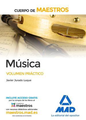 MUSICA VOLUMEN PRACTICO (2017) CUERPO MAESTROS