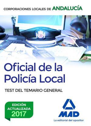 OFICIAL DE LA POLICIA LOCAL TEST ANDALUCIA (2017 OCTUBRE)