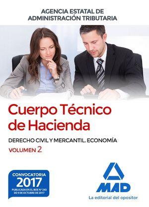 CUERPO TECNICO DE HACIENDA VOL.2