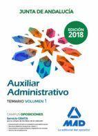 AUXILIAR ADMINISTRATIVO JUNTA DE ANDALUCÍA TEMARIO 1 2018