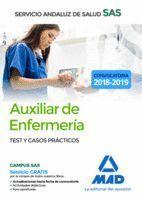AUXILIAR ENFERMERÍA TEST Y CASOS PRÁCTICOS SAS