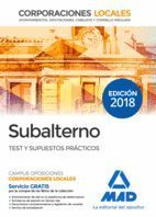 TEMARIO SUBALTERNO TEST Y SUPUESTOS PRACTICOS 2018