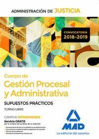 CUERPO DE GESTIÓN PROCESAL Y ADMINISTRATIVA DE LA ADMINISTRACIÓN DE JUSTICIA (TU