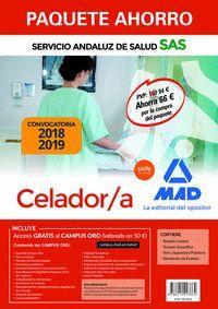 PAQUETE AHORRO CELADOR/A DEL SERVICIO ANDALUZ DE SALUD 2018/19