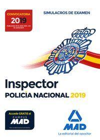 INSPECTOR DE POLICÍA NACIONAL SIMULACROS DE EXAMEN 2019