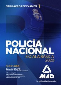 POLICIA NACIONAL 2020 SIMULACROS DE EXAMEN 1 ESCALA BASICA
