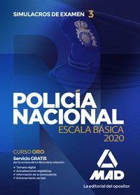 POLICIA NACIONAL 2020 SIMULACROS DE EXAMEN 3 ESCALA BASICA