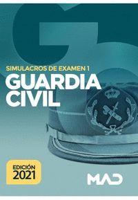 SIMULACROS DE EXAMEN 1 GUARDIA CIVIL 2021