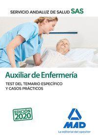 TEST Y  CASOS PRACTICOS AUXILIAR DE ENFERMERÍA SAS 2020