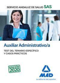 TEST DEL TEMARIO ESPECÍFICO 2020 AUXILIAR ADMINISTRATIVO/A