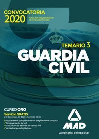 TEMARIO GUARDIA CIVIL VOL 3 2020
